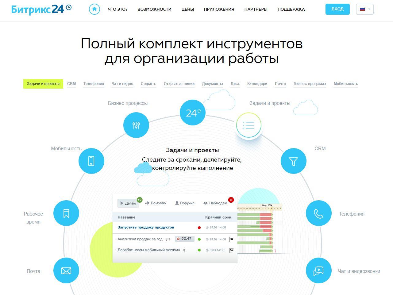 Система управления задачами Битрикс24