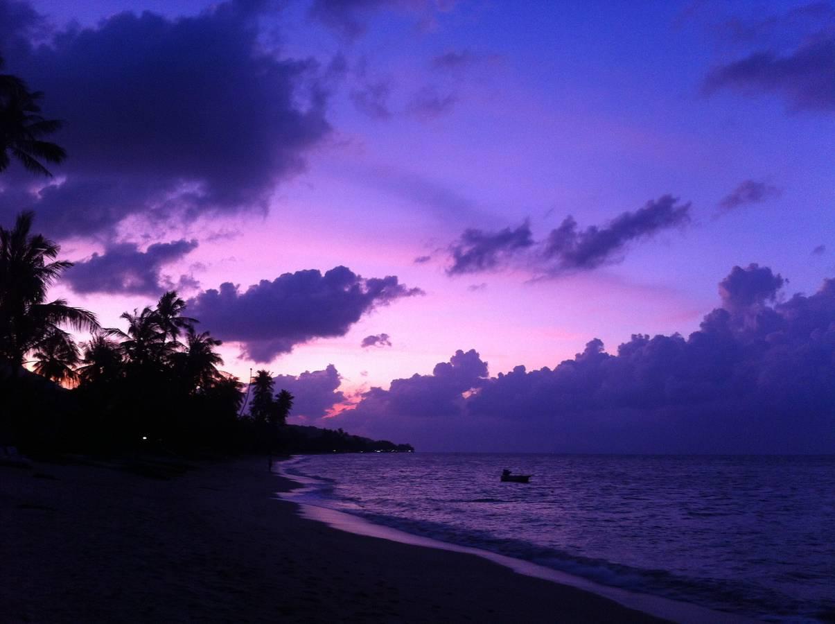 Остров Самуи. Пляж в районе Банг По